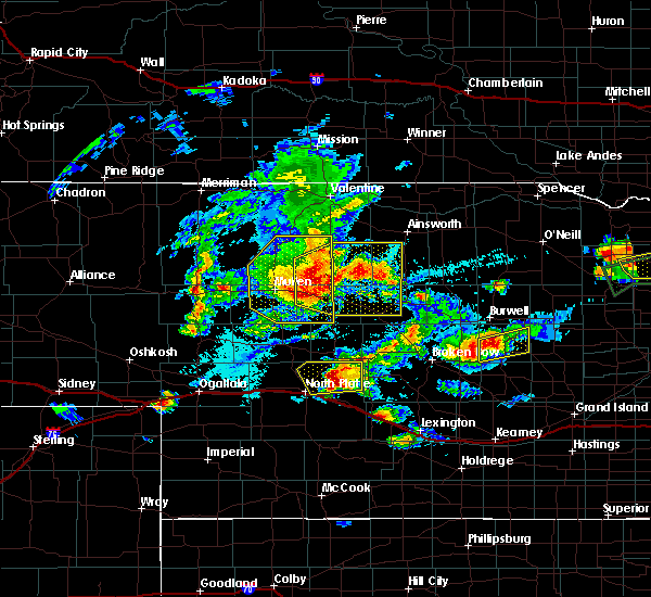 Radar Image for Severe Thunderstorms near Ord, NE at 7/17/2015 7:45 PM CDT