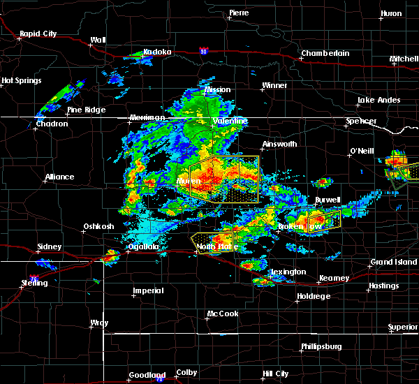 Radar Image for Severe Thunderstorms near Brownlee, NE at 7/17/2015 7:48 PM CDT