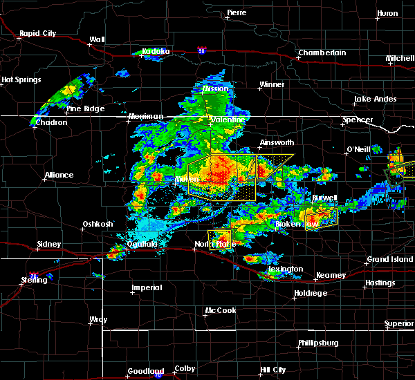 Radar Image for Severe Thunderstorms near Brownlee, NE at 7/17/2015 8:03 PM CDT