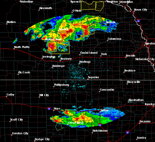 Radar Image for Severe Thunderstorms near Mason City, NE at 7/17/2015 9:33 PM CDT