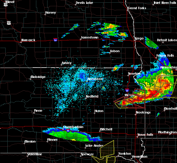 Radar Image for Severe Thunderstorms near Gary, SD at 7/17/2015 10:00 PM CDT