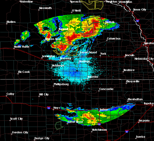 Radar Image for Severe Thunderstorms near Rockville, NE at 7/17/2015 10:02 PM CDT