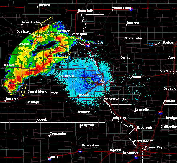 Radar Image for Severe Thunderstorms near Winside, NE at 7/17/2015 10:15 PM CDT