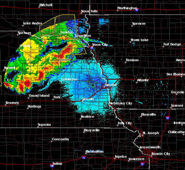 Radar Image for Severe Thunderstorms near Hoskins, NE at 7/17/2015 10:34 PM CDT