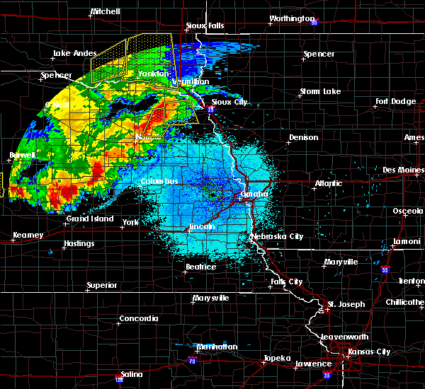 Radar Image for Severe Thunderstorms near Wayne, NE at 7/17/2015 10:44 PM CDT