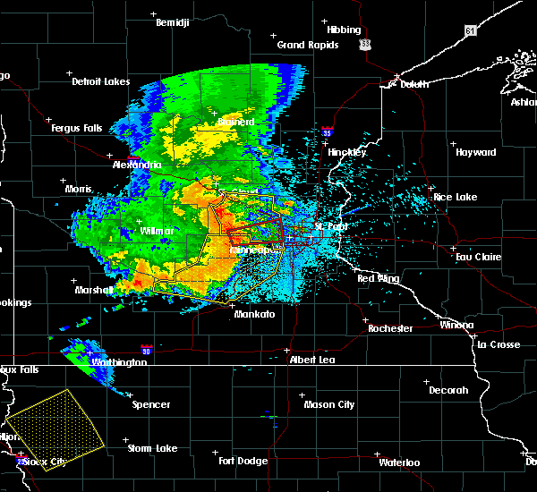 Radar Image for Severe Thunderstorms near Greenwood, MN at 7/18/2015 12:08 AM CDT