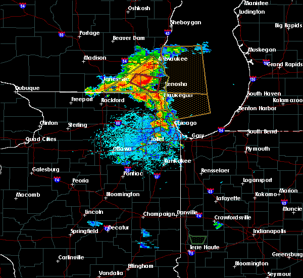 Radar Image for Severe Thunderstorms near Northlake, IL at 7/18/2015 3:22 PM CDT