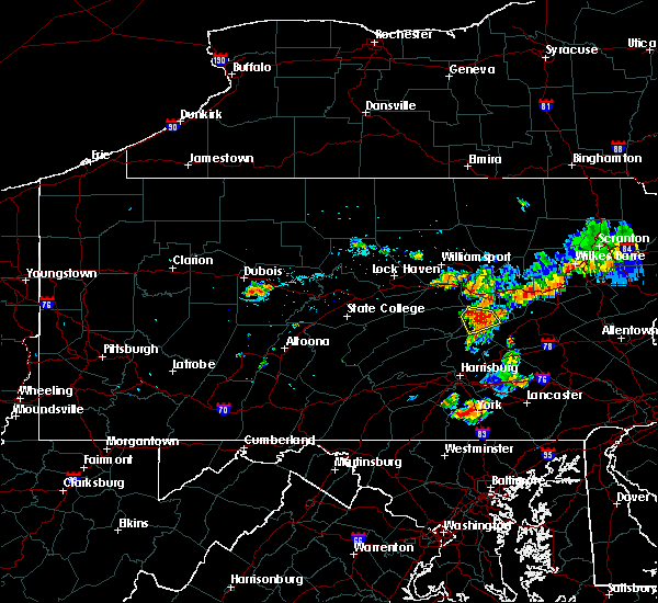 Radar Image for Severe Thunderstorms near Edgewood, PA at 7/18/2015 7:48 PM EDT