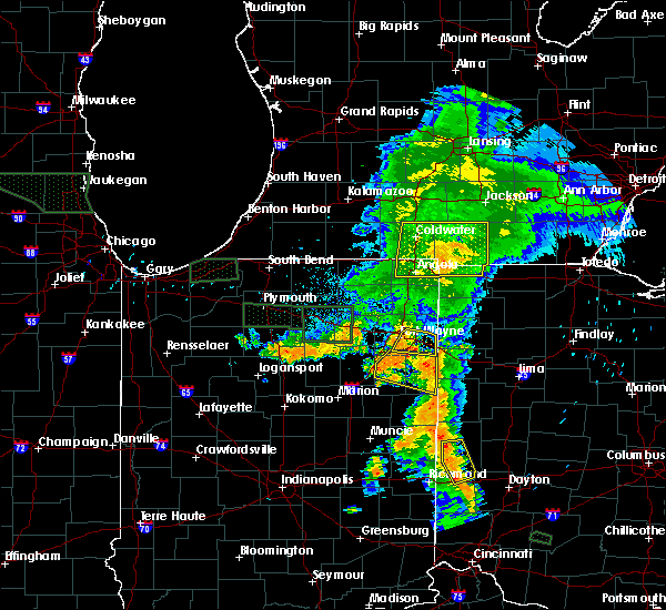 Radar Image for Severe Thunderstorms near Holiday City, OH at 7/18/2015 8:51 PM EDT