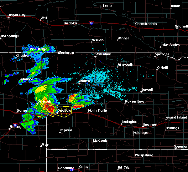 Radar Image for Severe Thunderstorms near Roscoe, NE at 7/18/2015 7:31 PM MDT