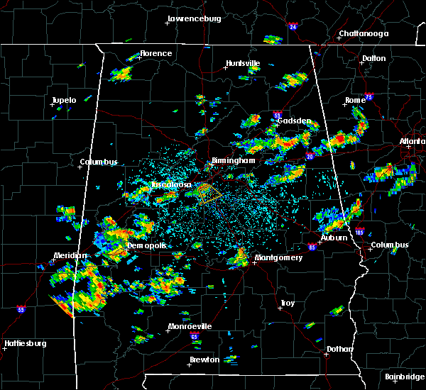 Radar Image for Severe Thunderstorms near Helena, AL at 7/19/2015 12:59 PM CDT