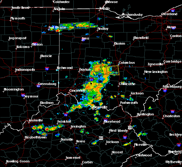Radar Image for Severe Thunderstorms near Grove City, OH at 7/19/2015 3:03 PM EDT
