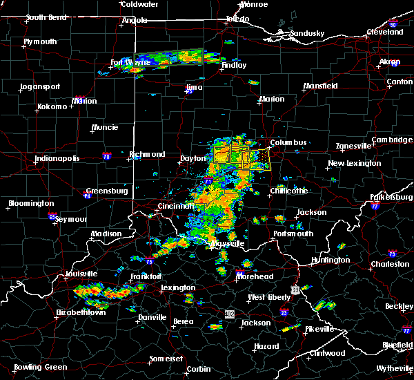 Radar Image for Severe Thunderstorms near Lafayette, OH at 7/19/2015 3:07 PM EDT
