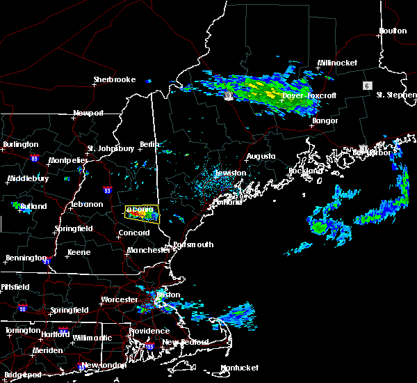 Radar Image for Severe Thunderstorms near Milton Mills, NH at 7/19/2015 3:10 PM EDT