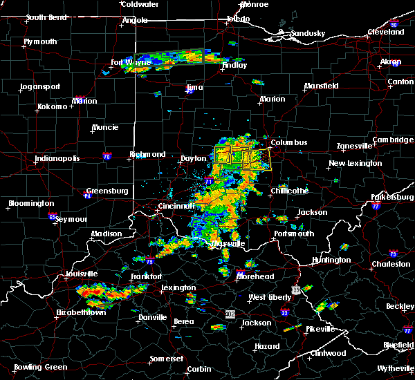 Radar Image for Severe Thunderstorms near Obetz, OH at 7/19/2015 3:12 PM EDT