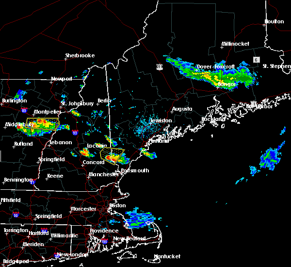 Radar Image for Severe Thunderstorms near Milton, NH at 7/19/2015 4:11 PM EDT