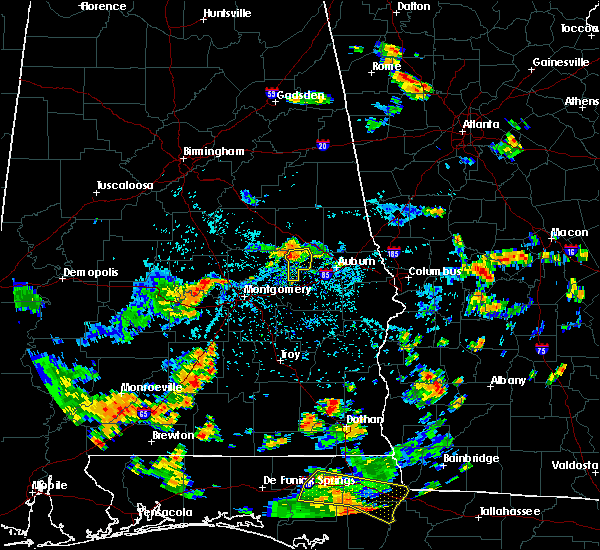 Radar Image for Severe Thunderstorms near Tallassee, AL at 7/19/2015 3:46 PM CDT