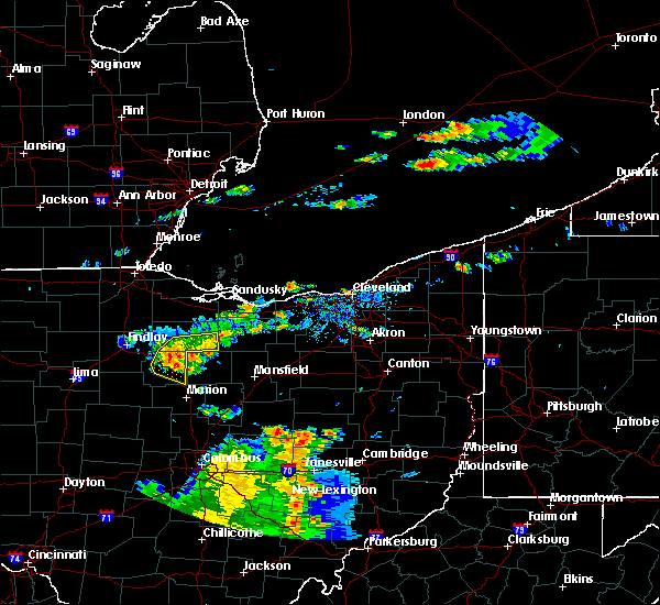 Radar Image for Severe Thunderstorms near Attica, OH at 7/19/2015 4:50 PM EDT