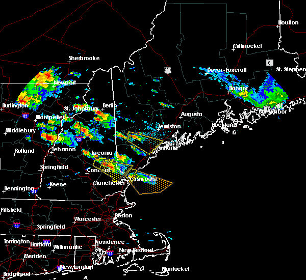 Radar Image for Severe Thunderstorms near Bridgton, ME at 7/19/2015 5:09 PM EDT