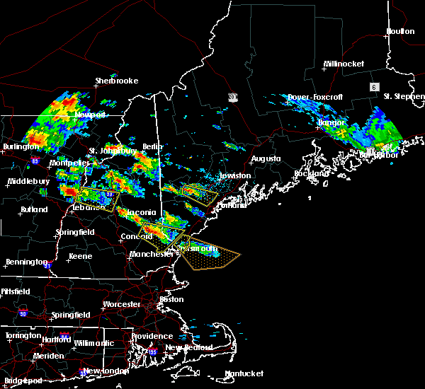 Radar Image for Severe Thunderstorms near Gray, ME at 7/19/2015 5:19 PM EDT