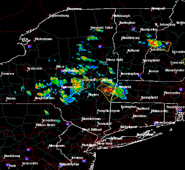 Radar Image for Severe Thunderstorms near Niskayuna, NY at 7/19/2015 5:29 PM EDT