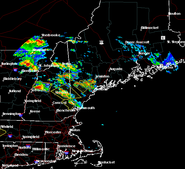 Radar Image for Severe Thunderstorms near Standish, ME at 7/19/2015 5:46 PM EDT