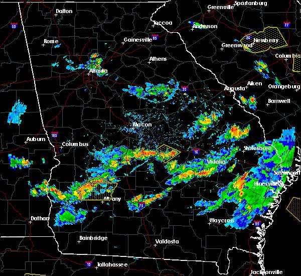Radar Image for Severe Thunderstorms near Leslie, GA at 7/19/2015 6:00 PM EDT
