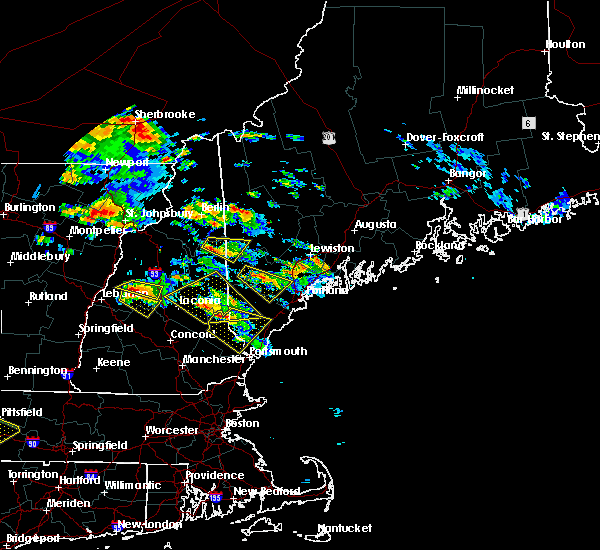 Radar Image for Severe Thunderstorms near South Eliot, ME at 7/19/2015 6:03 PM EDT