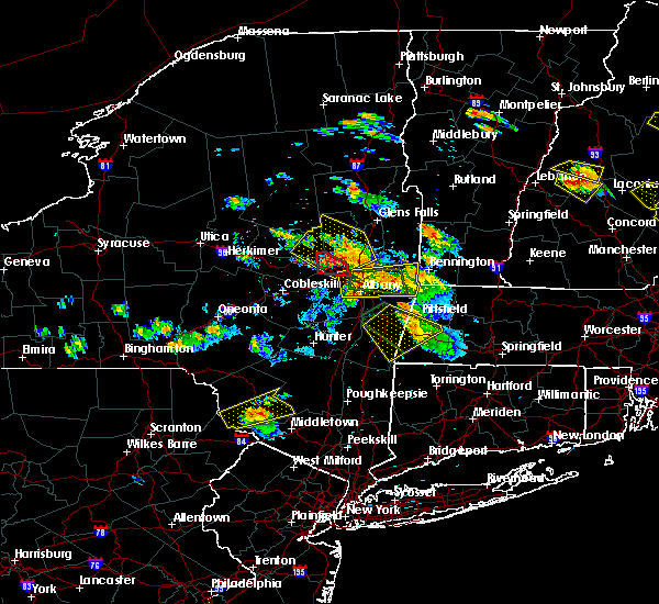 Radar Image for Severe Thunderstorms near Niskayuna, NY at 7/19/2015 6:14 PM EDT