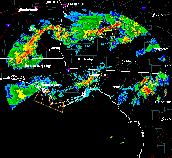 Radar Image for Severe Thunderstorms near Woodville, FL at 7/19/2015 7:01 PM EDT