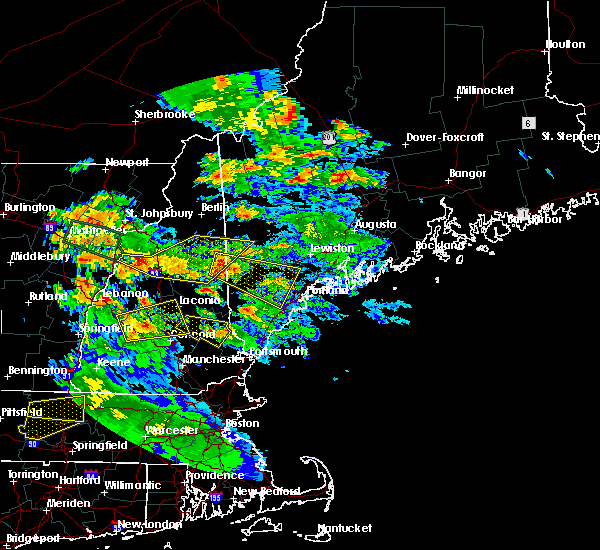 Radar Image for Severe Thunderstorms near Bridgton, ME at 7/19/2015 8:15 PM EDT