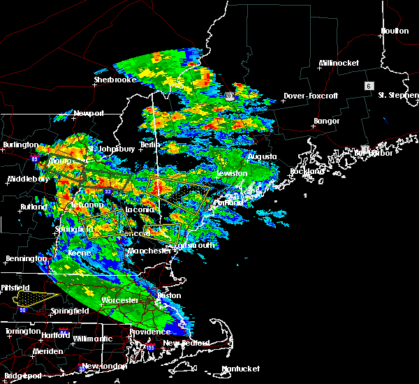 Radar Image for Severe Thunderstorms near Anson, ME at 7/19/2015 8:21 PM EDT