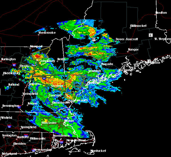 Radar Image for Severe Thunderstorms near South Eliot, ME at 7/19/2015 8:58 PM EDT