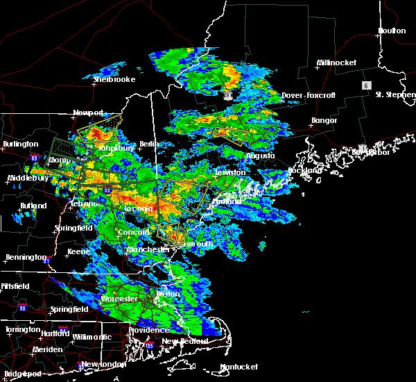 Radar Image for Severe Thunderstorms near Skowhegan, ME at 7/19/2015 9:01 PM EDT