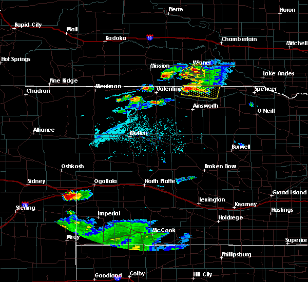 Radar Image for Severe Thunderstorms near Springview, NE at 7/19/2015 8:04 PM CDT