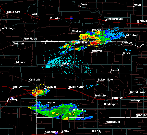 Radar Image for Severe Thunderstorms near Roscoe, NE at 7/19/2015 7:20 PM MDT