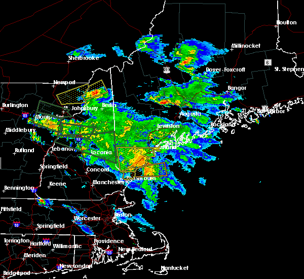 Radar Image for Severe Thunderstorms near West Kennebunk, ME at 7/19/2015 9:48 PM EDT