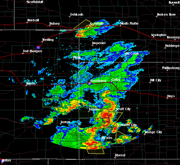Radar Image for Severe Thunderstorms near Marienthal, KS at 7/19/2015 8:56 PM CDT