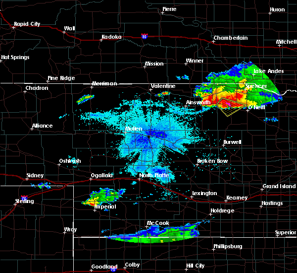 Radar Image for Severe Thunderstorms near Atkinson, NE at 7/19/2015 10:21 PM CDT