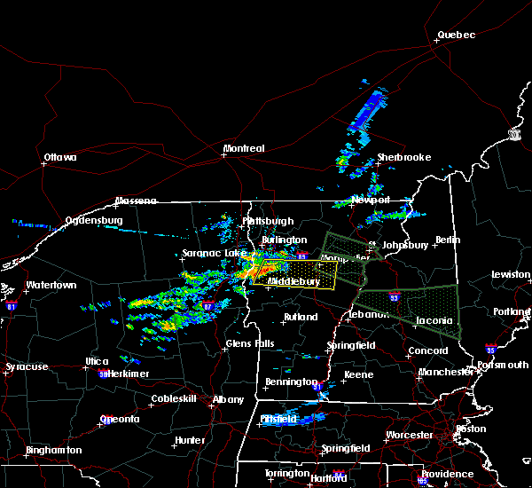 Radar Image for Severe Thunderstorms near Hinesburg, VT at 7/20/2015 1:28 AM EDT