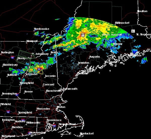Radar Image for Severe Thunderstorms near Melvin Village, NH at 7/20/2015 3:21 AM EDT