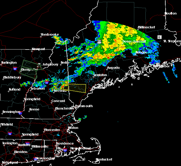 Radar Image for Severe Thunderstorms near Standish, ME at 7/20/2015 4:00 AM EDT