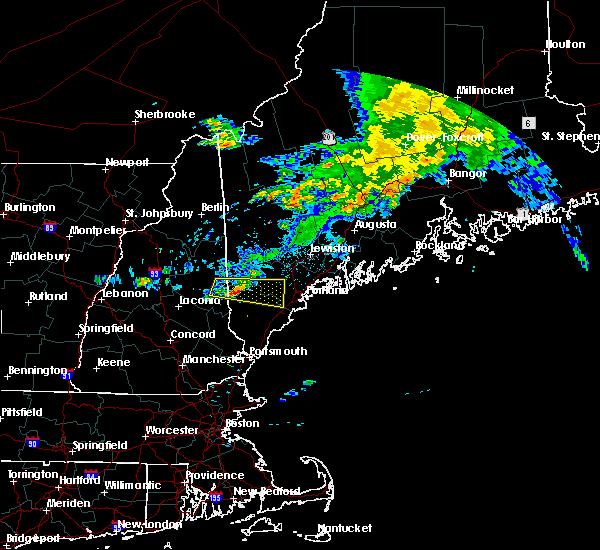 Radar Image for Severe Thunderstorms near Standish, ME at 7/20/2015 4:20 AM EDT