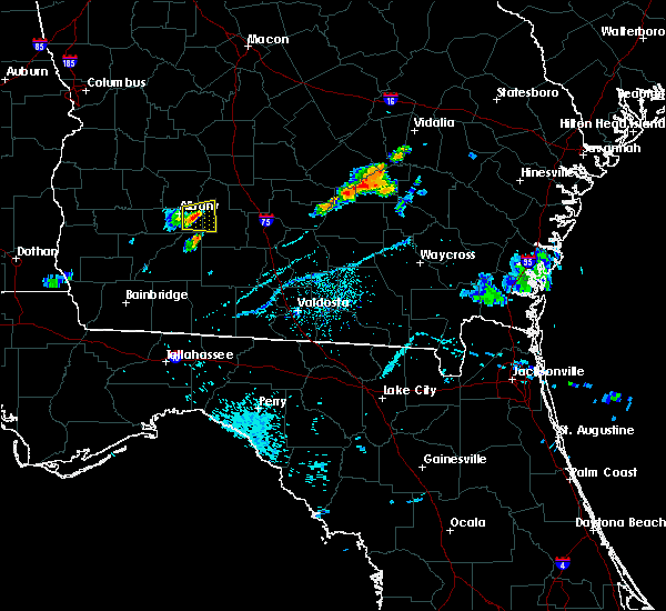 Radar Image for Severe Thunderstorms near Putney, GA at 7/20/2015 7:35 PM EDT