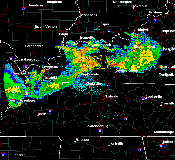 Radar Image for Severe Thunderstorms near Rochester, KY at 7/20/2015 10:51 PM CDT