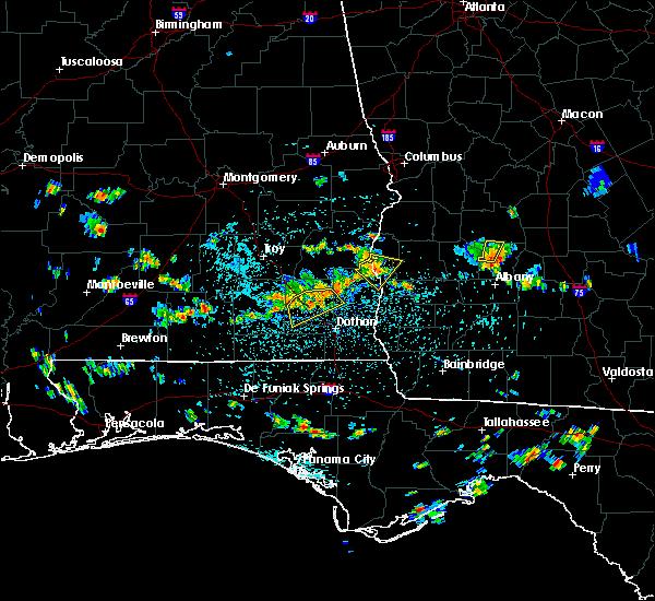 Radar Image for Severe Thunderstorms near Daleville, AL at 7/21/2015 2:44 PM CDT