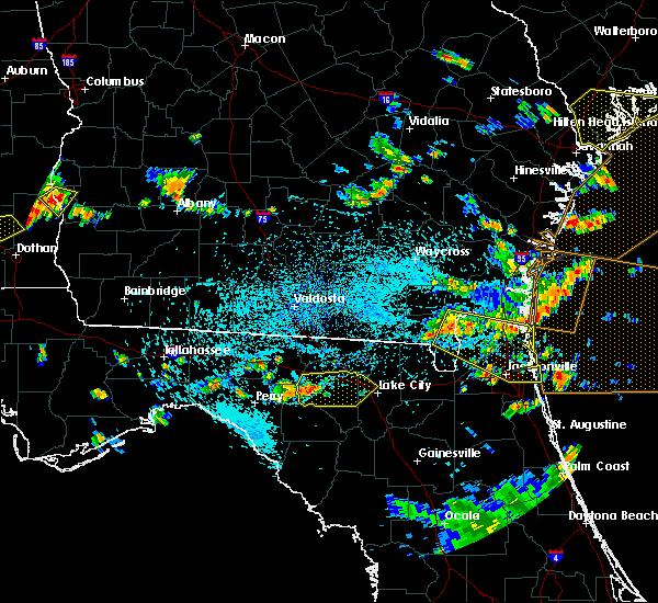 Radar Image for Severe Thunderstorms near Live Oak, FL at 7/21/2015 3:49 PM EDT