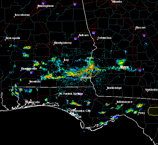 Radar Image for Severe Thunderstorms near Abbeville, AL at 7/21/2015 4:02 PM EDT