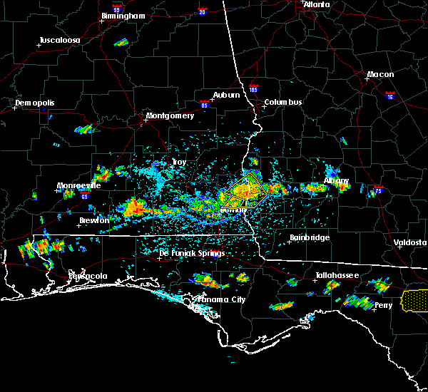 Radar Image for Severe Thunderstorms near Bluffton, GA at 7/21/2015 4:22 PM EDT