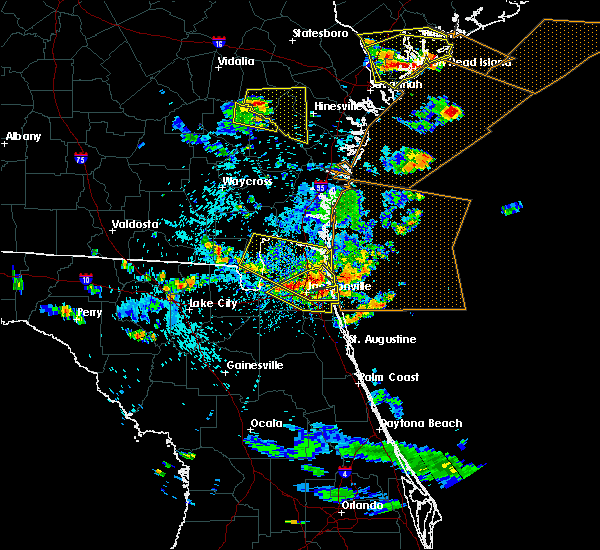 Radar Image for Severe Thunderstorms near Palm Valley, FL at 7/21/2015 4:47 PM EDT